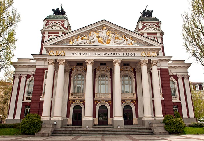 National Theater Ivan Vazov Sofia, Bulgaria